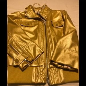 Woman's Gold Jacket